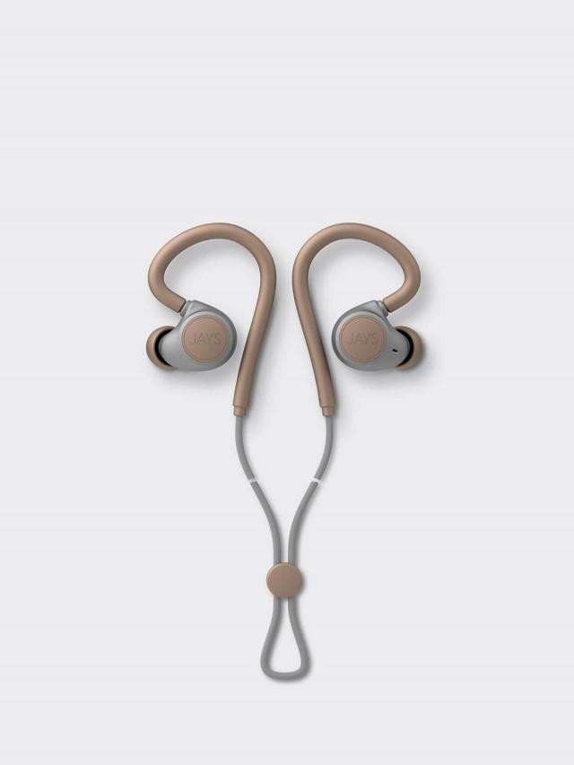 JAYS m - Six 運動型無線藍芽耳機 - 金沙