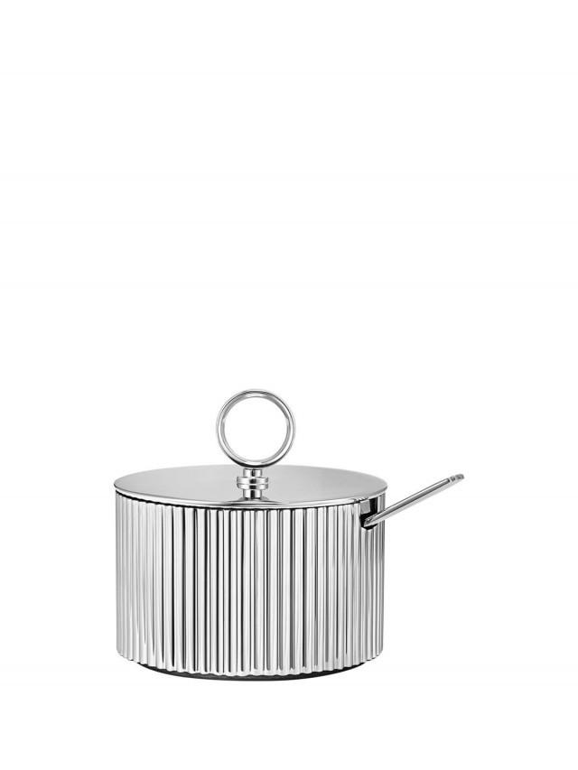 GEORG JENSEN Bernadotte 系列 - 糖罐 ( 含勺 )