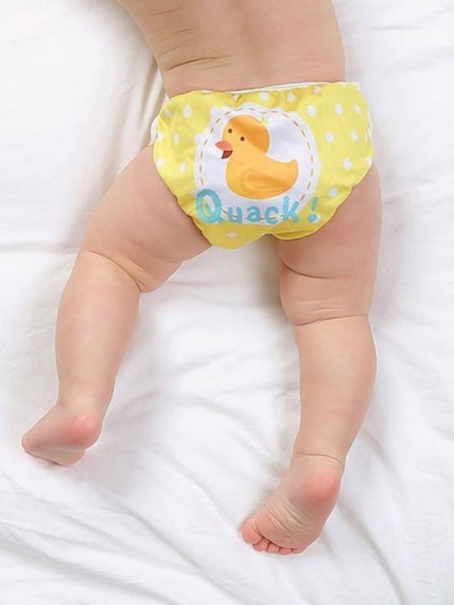 Swimava S1 小黃鴨嬰兒游泳褲 - L 號