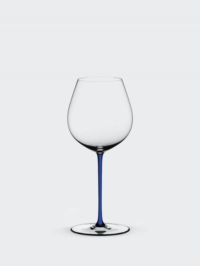 RIEDEL FATTO A MANO - Old World Pinot Noir 黑皮諾手工彩色杯梗紅酒杯 - 藍