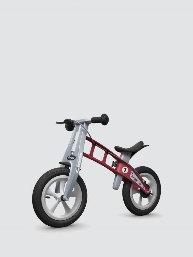 FirstBIKE 兒童滑步車 / 平衡車 - 街頭紅 / 附煞車