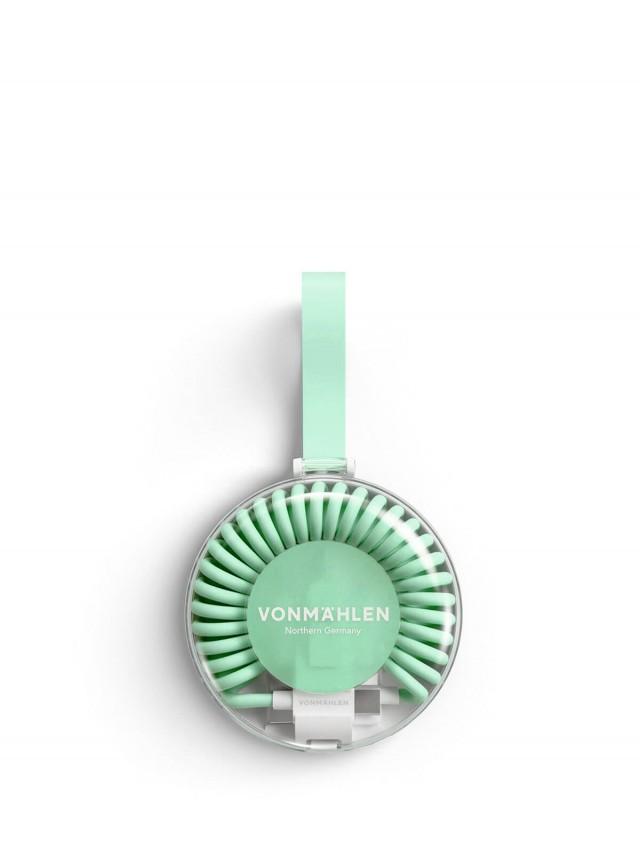 VONMÄHLEN 甜甜圈多合一充電傳輸線 - 薄荷綠