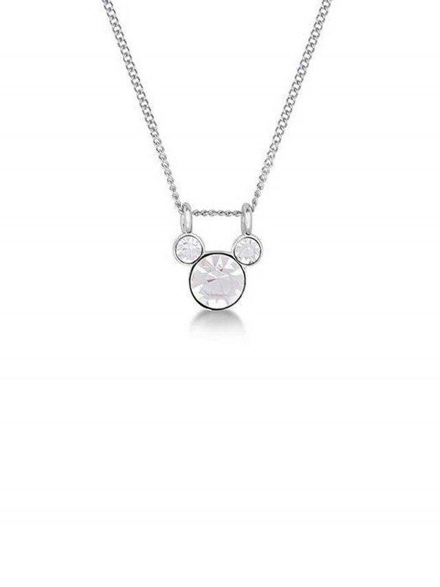 COUTURE KINGDOM Disney Jewellery 米奇經典水晶項鍊 x 晶透白