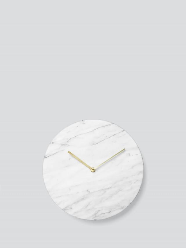 MENU 大理石鐘 - 白色
