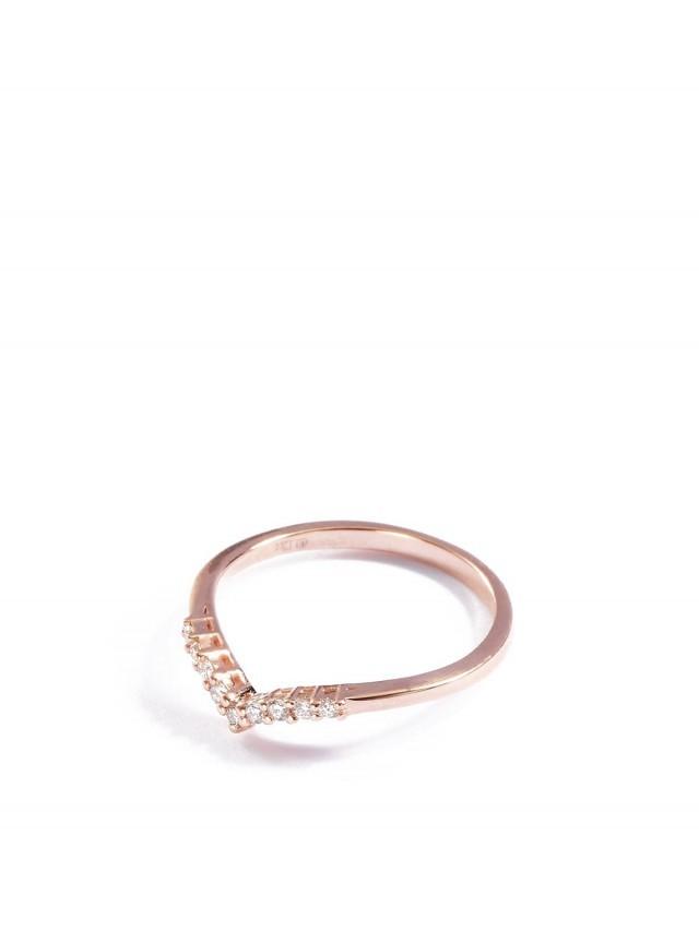 ARTISMI Bloom 系列 | 鑽石戒指 | Rose Gold 14K