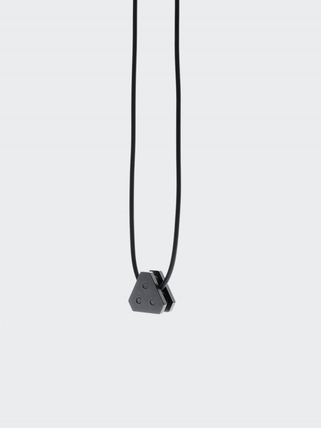 DRILLING LAB ANONYMOUS NECKLACE 項鍊 - BLACK 黑