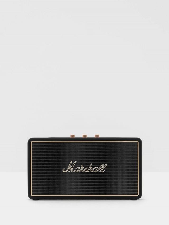 Marshall 英國 Stockwell 攜帶型行動電源藍芽喇叭 - 經典黑