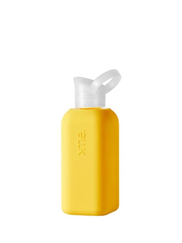 SQUIREME. 玻璃水瓶 - 黃色