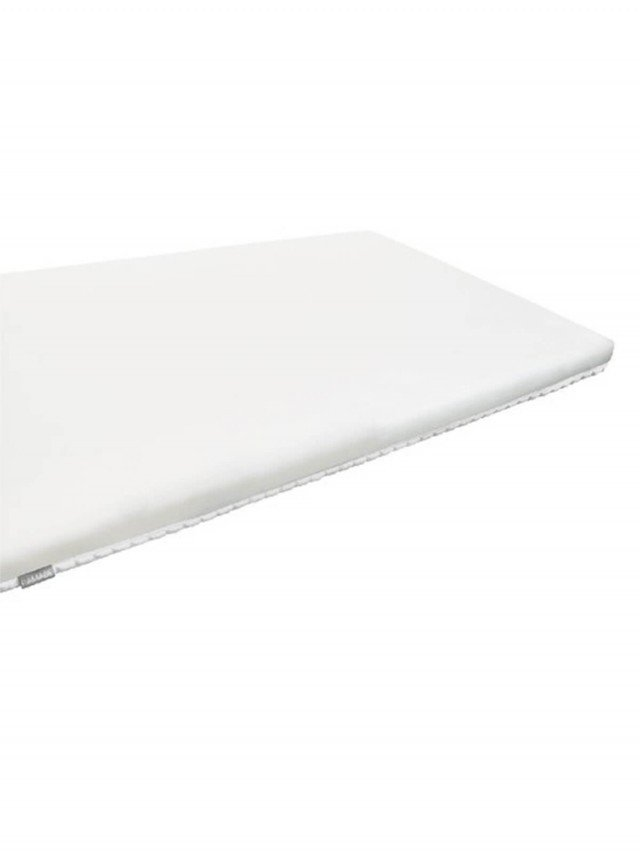 PAMABE 二合一水洗透氣嬰兒床墊 - 經典白