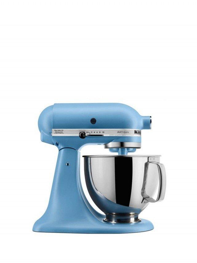 KitchenAid 5Q 桌上型攪拌機 - 絲絨藍