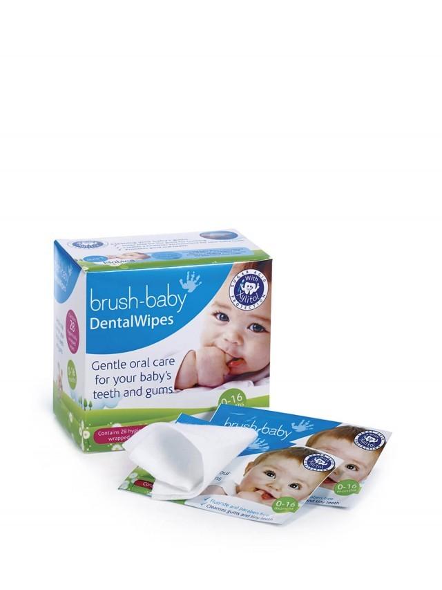 brush-baby 安心刷潔牙手指棉巾 ( 28片 / 單片包 )