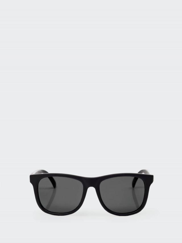 Hipsterkid 抗 UV 時尚嬰童偏光太陽眼鏡 - 黑