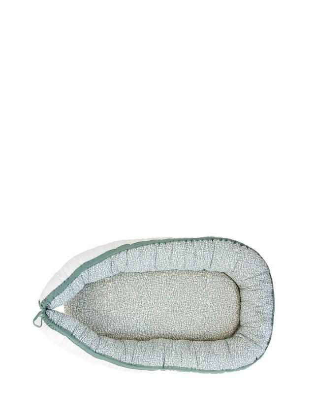 NANAMI 睡窩 / 睡床 - 有機棉薄荷綠印花