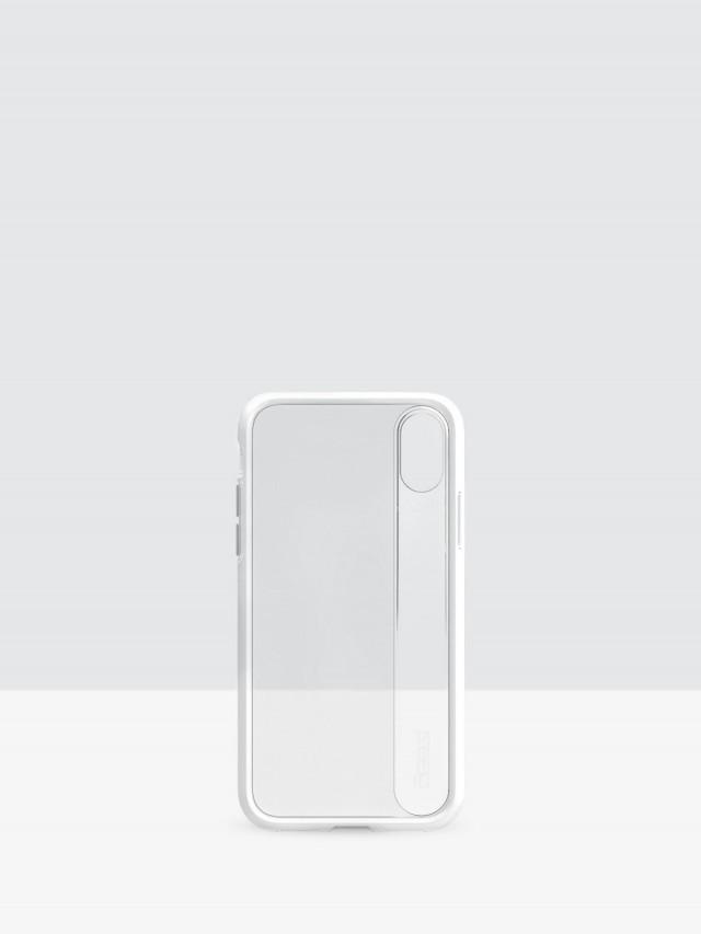 gear 4 iPhone X Windsor D3O 系列軍規防撞雙料保護殼 - 白