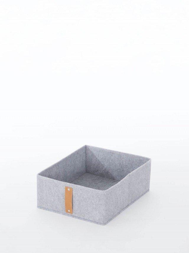 Roommate 羊毛氈收納箱組 - 灰色