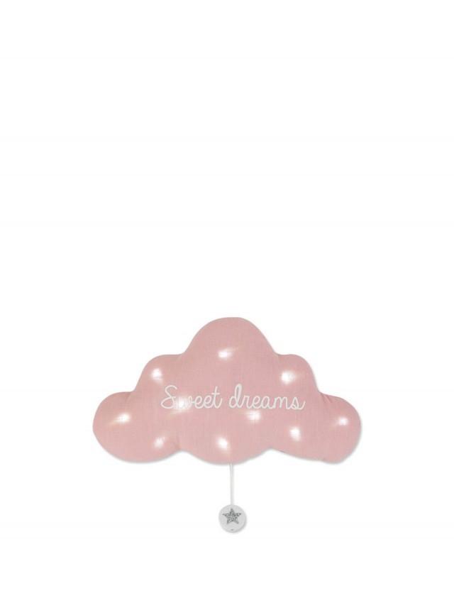 TOI-MEME 法式雲朵音樂夜燈 x 甜蜜美夢 x 粉紅灰 - 禮盒