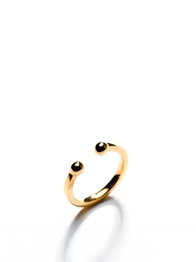 ARTISMI Circle 系列 | 簡約耳扣 | Yellow Gold - 18K Gold Vermeil