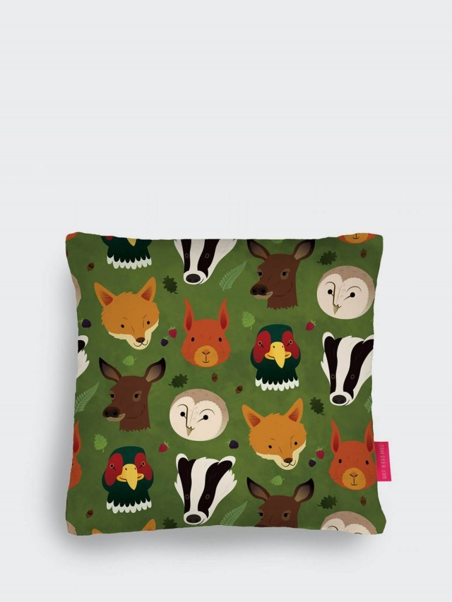 OHH DEER BRITISH WOODLANDS CUSHION 英國動物森林抱枕