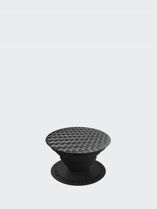 PopSockets泡泡騷 美國時尚多功能手機支架 - 碳纖維