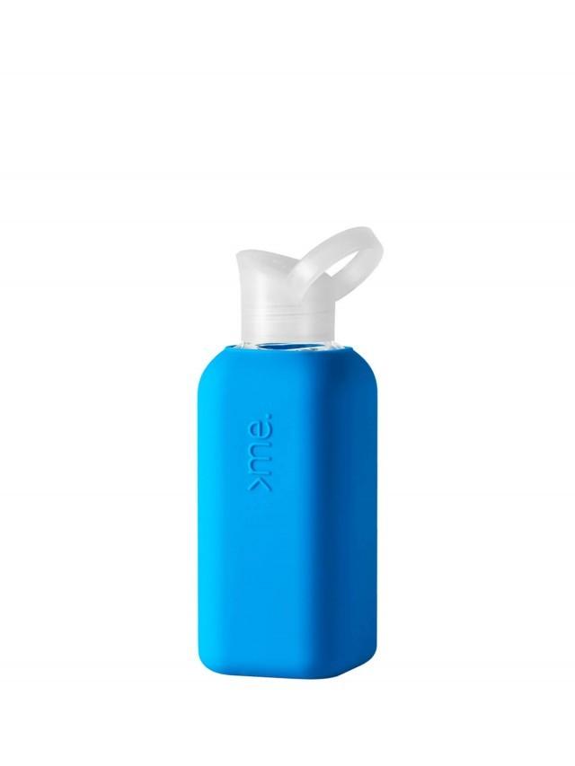 SQUIREME. 玻璃水瓶 - 藍色