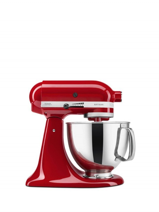 KitchenAid 5Q 桌上型攪拌機 - 熱情紅