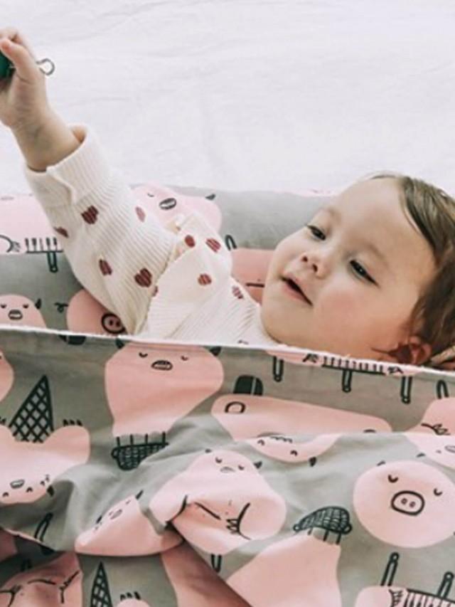 DABY 小怪獸幼兒枕 - 豬豬小怪獸