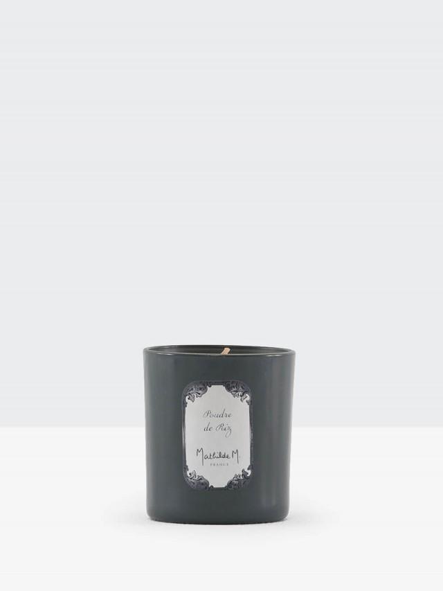 MATHILDE M. 黑瓶香氛蠟燭 - 香粉