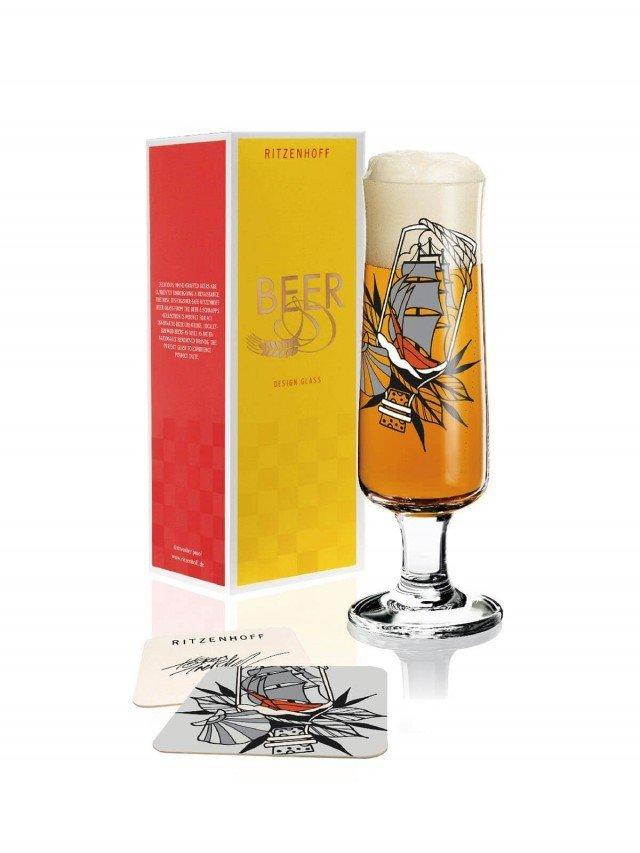RITZENHOFF BEER 新式啤酒杯 / 瓶中船