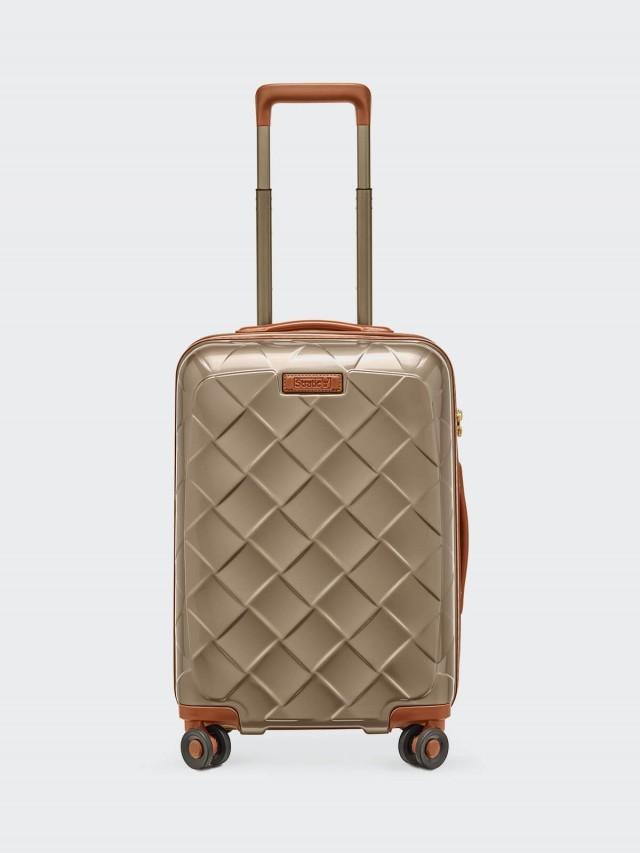 Stratic Leather & More 旅行箱 -19 吋 / 香檳金