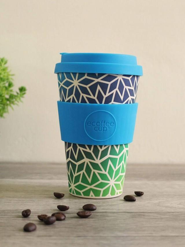 ecoffee cup 14 oz 環保隨行杯 x 冰晶藍