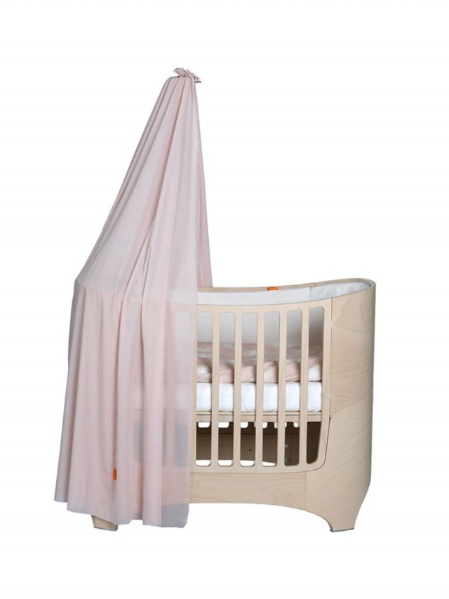 Leander 嬰兒成長床配件 - 罩蓬 x 粉紅