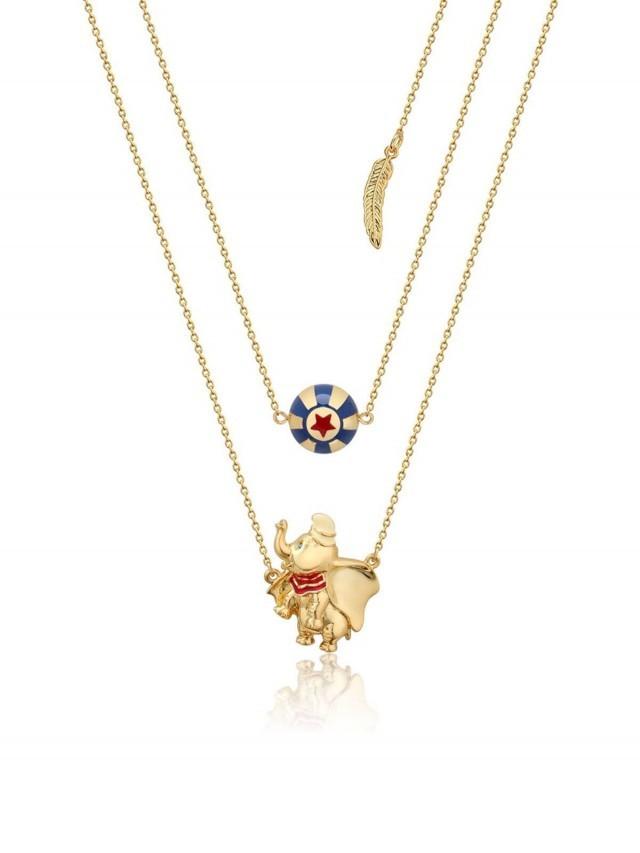 COUTURE KINGDOM Disney Jewellery 迪士尼小飛象馬戲團項鍊 x Dumbo Circus Ball Necklace  x 金