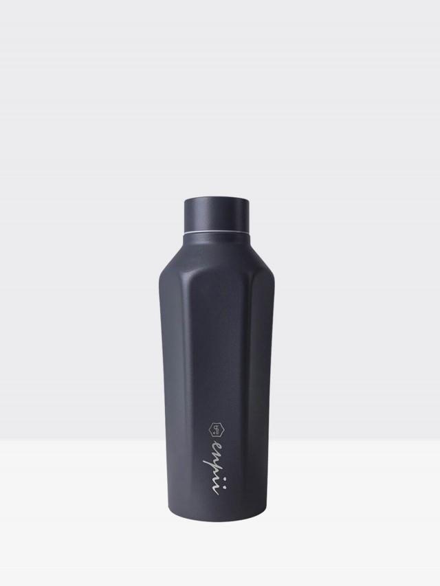 BOII 本因保溫瓶 450ml - 碳木黑