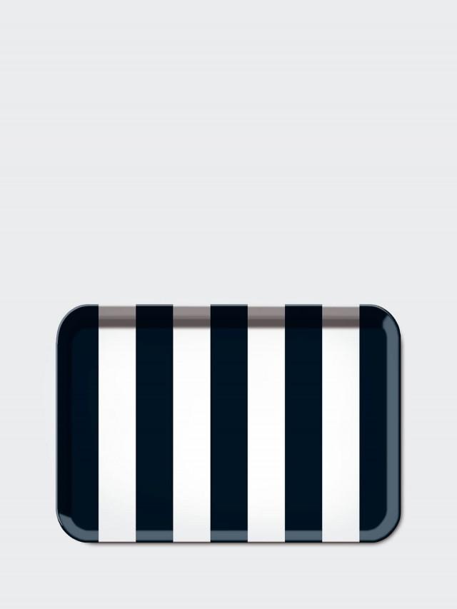 REMEMBER Little Tray - Black Block 端端 S 托盤 x 黑白條紋
