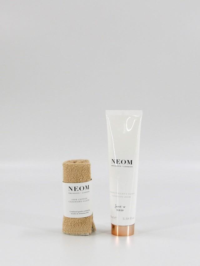 NEOM 舒緩恬睡卸粧霜 100 ml + 100 % 純棉卸粧布 x 1