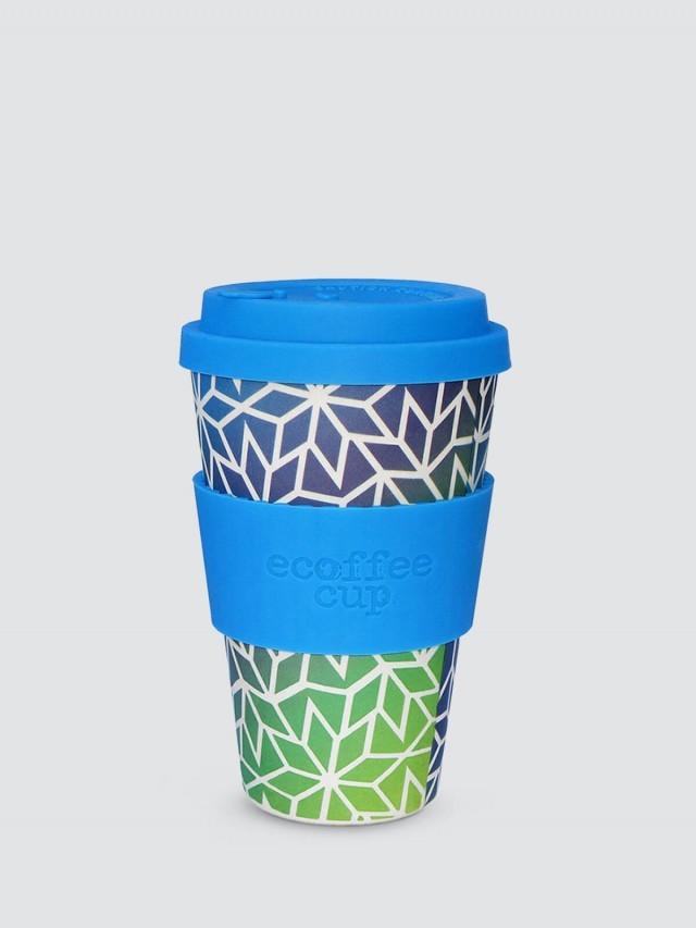 ecoffee cup 14 oz 隨行杯 - 冰晶藍