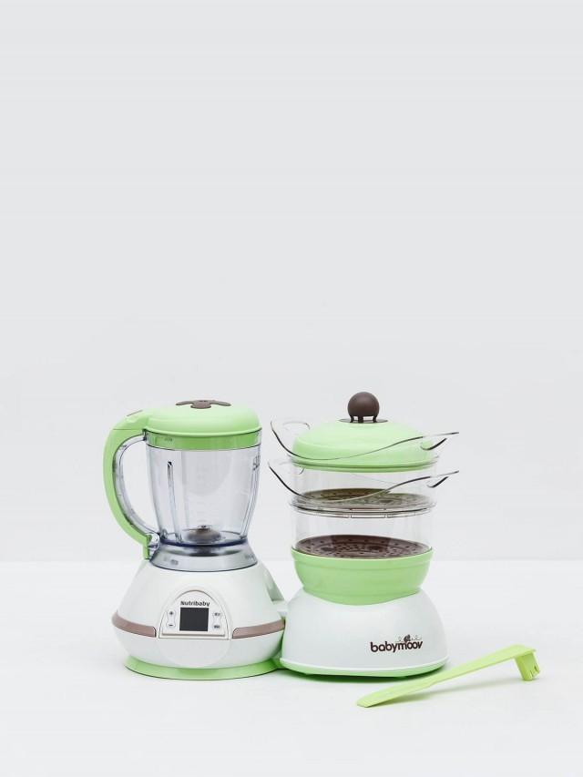babymoov Nutribaby 多功能副食品調理機 ( 加碼贈矽膠摺疊碗 )