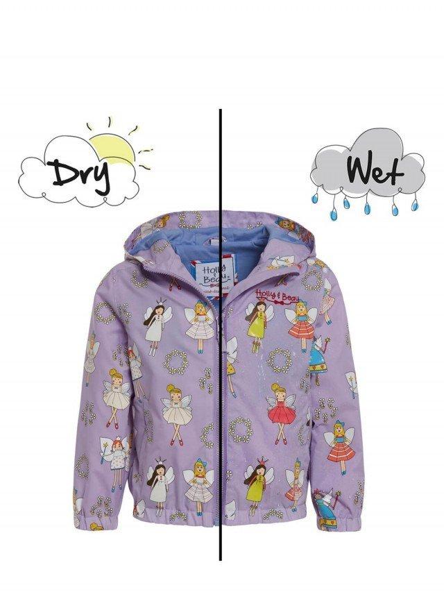 Holly & Beau 神奇變色雨衣 - 紫色仙子