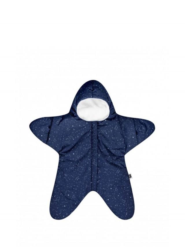 BABY BITES 嬰兒版海星睡袋 - 輕量版 x 午夜藍